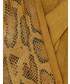 Rękawiczki Unisono RĘKAWICZKI W ZWIERZĘCY MOTYW 164-ST719 SENAPE