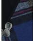 Rękawiczki Unisono RĘKAWICZKI W KRATĘ 164-18-175 BLU