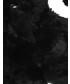 Szalik Unisono SZAL Z SZTUCEGO FUTRA 135-111747 BLACK