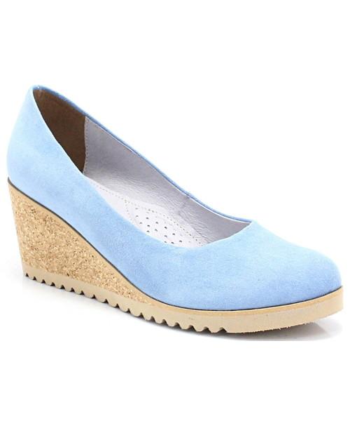 04b3933cb6704a Jana Shoes 8-28303-28 - Sandały ze skóry na koturnie, sandały - Butyk.pl