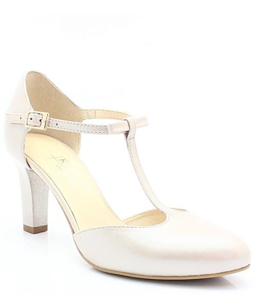 e2ffa966 Czółenka 889 PERŁA LICO - Piękne buty taneczne ze skóry - Tymoteo.pl Kotyl