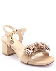 Sandały 33701 BEŻOWE - Sandały z frędzlami - Tymoteo.pl Solo Femme ea9a0f5d3d