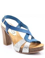 5bd42209 Sandały 7128 GRANAT+SREBRO - Hiszpańskie buty - Tymoteo.pl Mariettas