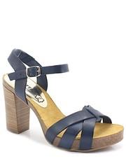 f5503c918773e Sandały 71040 GRANATOWE - Hiszpańskie buty - Tymoteo.pl Mariettas