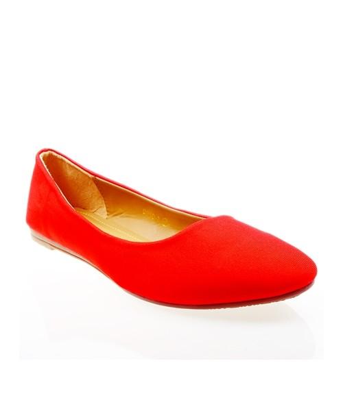 38fc05e244 Balerinki Cink Me Baleriny damskie czerwone balerinki duże rozmiary