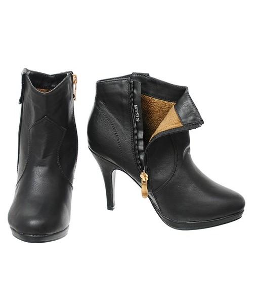 36f231f2eda4a Family Shoes Botki damskie czarne szpilka, botki - Butyk.pl