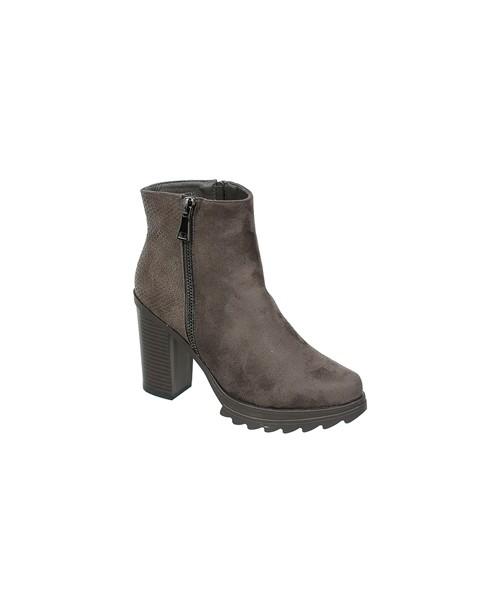 3981f146831ba Family Shoes ZAMSZOWE BOTKI NA SŁUPKU, botki - Butyk.pl