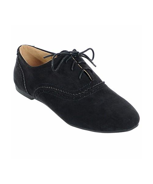 1c24843ec651e Family Shoes PÓŁBUTY JAZZÓWKI DAMSKIE CZARNE, półbuty - Butyk.pl