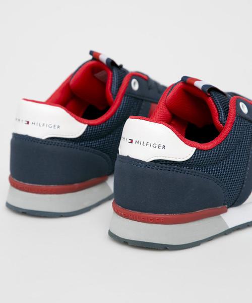 55b83c63 Sportowe buty dziecięce Tommy Hilfiger - Buty dziecięce  T3B4.30345.0584.34.39