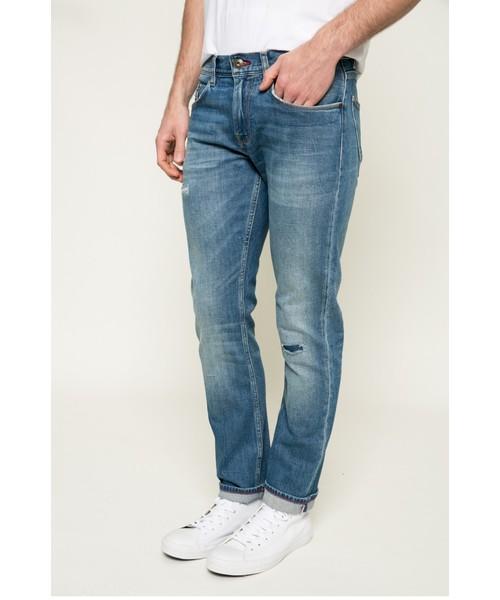 5a7d382241d39 Spodnie męskie Tommy Hilfiger - Jeansy Denton Clermont MW0MW00128