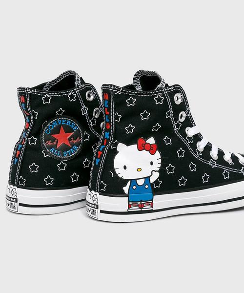trampki damskie Converse Trampki Hello Kitty C163919