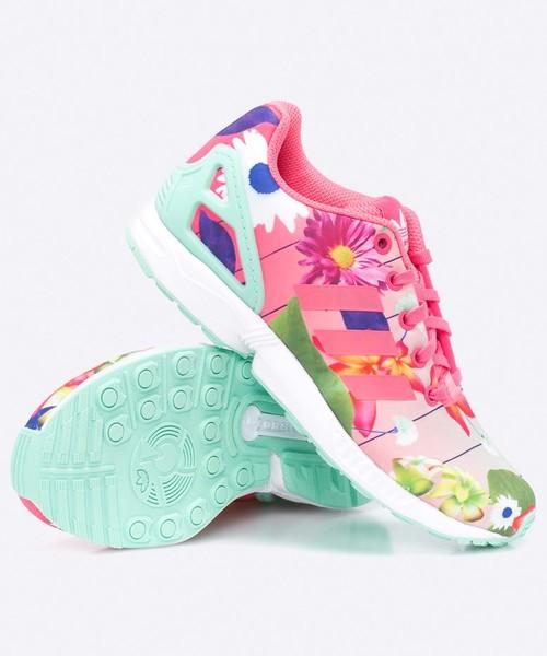 półbuty dziecięce Adidas Originals adidas Originals Buty Zx Flux J CM8135