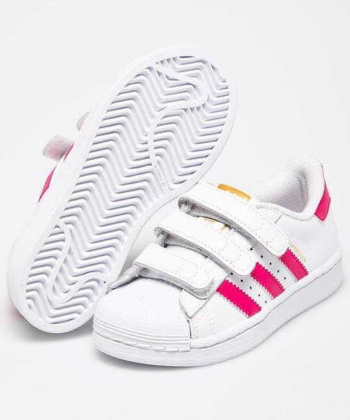 adidas Originals Buty dziecięce Superstar Foundation CF C