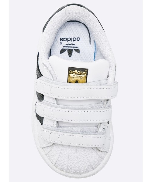 8daa41f1b21 Sportowe buty dziecięce Adidas Originals adidas Originals - Buty dziecięce Superstar  BZ0418
