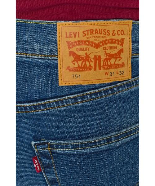 spodnie męskie Levi's Levis Jeansy 751 STANDARD FIT 00751.0013