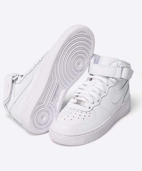 sportowe buty dziecięce Nike Kids Buty dziecięce AIR FORCE 1 MID GS 314195.113