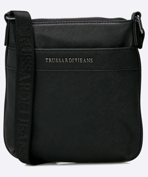 3503e3a6458d8 torba męska Trussardi Jeans - Saszetka 71B00029.1Y000058