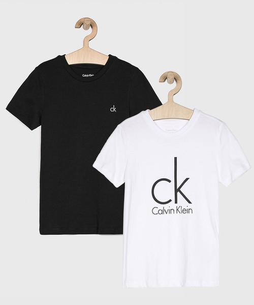 calvin klein bluza dziecięca biała