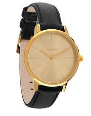 zegarek damski - Zegarek Kensington Leather Gold KENSINGTON.LEATHER.GOLD - Answear.com