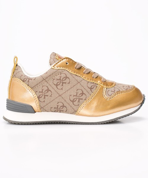 1f9e9cec4d9ea sportowe buty dziecięce Guess Jeans - Buty dziecięce Ele FJROM3.ELE12.GOLD