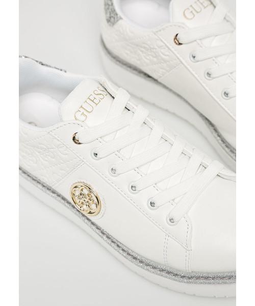 b4aa4117915a9 Półbuty Guess Jeans - Buty Debora FLDEB3.PEL12.WHITE