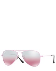 okulary - Okulary Junior Aviator 0RJ9506S.211.7E.52 - Answear.com