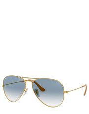 okulary - Okulary Aviator Large Metal RB3025.001/3F - Answear.com