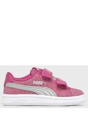 a5305b9f Sportowe buty dziecięce Puma- Buty dziecięce Smash V2Glitz GlamV Inf 367380  - Answear.com