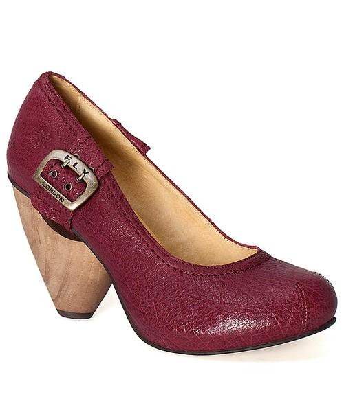 buty damskie fly london na pasek