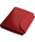 Portfel Kemer Portfel damski skórzany  35701311 Czerwony