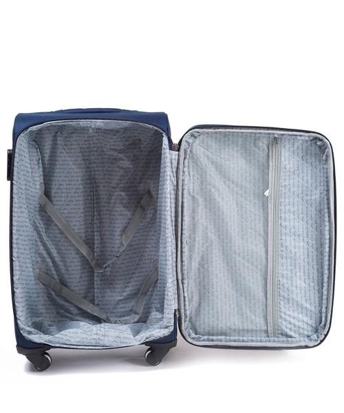 78712a8077882 Kemer Duża walizka 1706 L Szara, torba podróżna - Butyk.pl