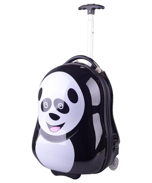 6518c1fc torebka dziecięca Kemer Walizka dziecięca Panda Czarno Biała