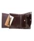 Portfel VOOC Skórzany portfel męski KEMER  PPM2 Brązowy
