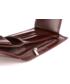Portfel VOOC Męski portfel skórzany KEMER  PPM3 Brązowy