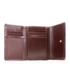 Portfel VOOC Klasyczny portfel damski skórzany KEMER  PPD8 Brązowy