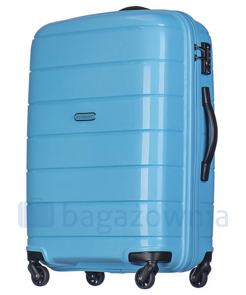 8d4a0c89c89b3 Puccini Duża walizka MADAGASCAR PP013A 7 Błękitna, walizka - Butyk.pl