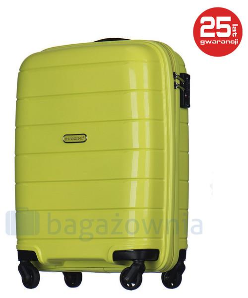 d9d750701e920 Puccini Mała kabinowa walizka MADAGASCAR PP013C 5 Limonkowa, walizka ...