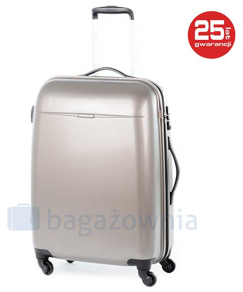 a1ba9982dd746 Puccini Duża walizka VOYAGER PC005A 6 Złota, walizka - Butyk.pl