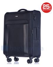 d950e0ae83e83 Czarne torby podróżne i walizki Puccini kolekcja jesień 2017 - Butyk.pl