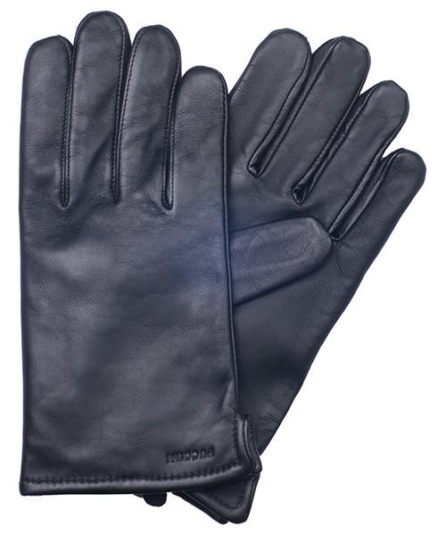 74f4a2f15ecf29 Rękawiczki męskie Puccini Rękawiczki męskie skórzane M 101 8.5 Czarne