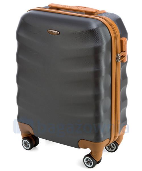 197e1833c94d6 Wittchen Mała kabinowa walizka 56-3A-231-11 Szara, walizka - Butyk.pl