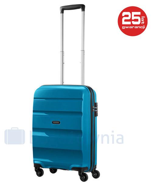 834d91d335ded Walizka At By Samsonite Mała walizka kabinowa SAMSONITE AT BON AIR 59422  Niebieska