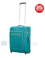 Walizka Mała kabinowa walizka  SAMSONITE AT AIRBEAT 102998 Turkusowa - bagazownia.pl At By Samsonite