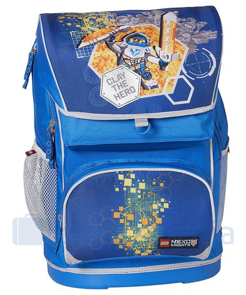 6c4a99d159195 Plecak dziecięcy Lego Plecak szkolny z doczepianą torba Nexo Knights  20013-1708 Niebieskie