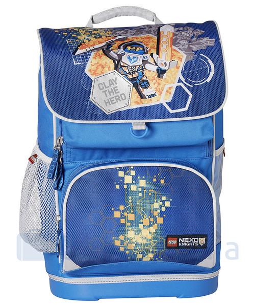 44aa453194efb Plecak dziecięcy Lego Plecak szkolny z doczepianą torba Nexo Knights  20014-1708 Niebieskie