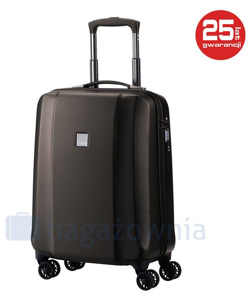 5cc9a334f84d9 Titan Mała kabinowa walizka XENON DELUXE 816406-60 Brązowa, walizka ...