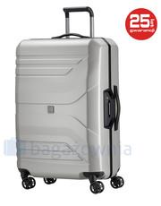 330d2c786d2a Walizka TitanDuża walizka PRIOR 700504-56 Srebrna - bagazownia.pl