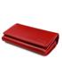 Portfel VOOC Portfel damski ze skóry duży PPD3 czerwony