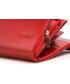 Portfel VOOC Oryginalny portfel damski skóra PPD2 czerwony