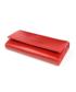 Portfel VOOC Duży skórzany portfel damski PPD5 czerwony